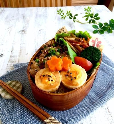 保存袋で簡単! 豚こま肉でアッサリ角煮風 味玉も一緒に(^ ^) 【連載】