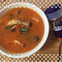 GABANあらびきチリペッパー♪HOTチリトマトスープ