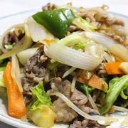 365日野菜レシピNo.110「肉野菜炒め」