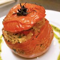 余ったご飯を簡単リメイク!トマトのドルマ
