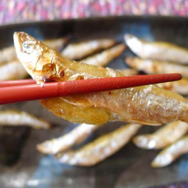 北海道産:チカの塩焼き
