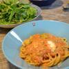 アボカドとトマトのパスタソース