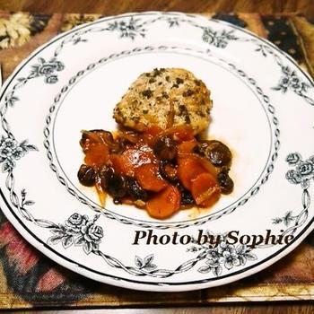 チキンとベビーポータベラの炒め物のレシピ
