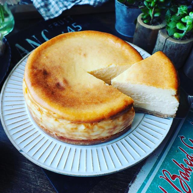 チーズケーキ色々~❤️と、基本のベイクドチーズケーキ❤️