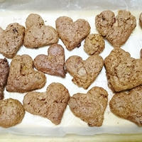キャドバリー デイリーミルクフルーツ&ナッツでフルーツたっぷりクッキー