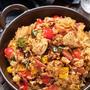 【TV紹介レシピ:新型コロナに負けない免疫力UP料理】「炊飯器deチキンパエリア」&「ブロッコリーとツナのめんつゆ煮」