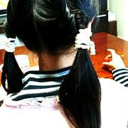 女の子のヘアアレンジと田中ビネー発達検査
