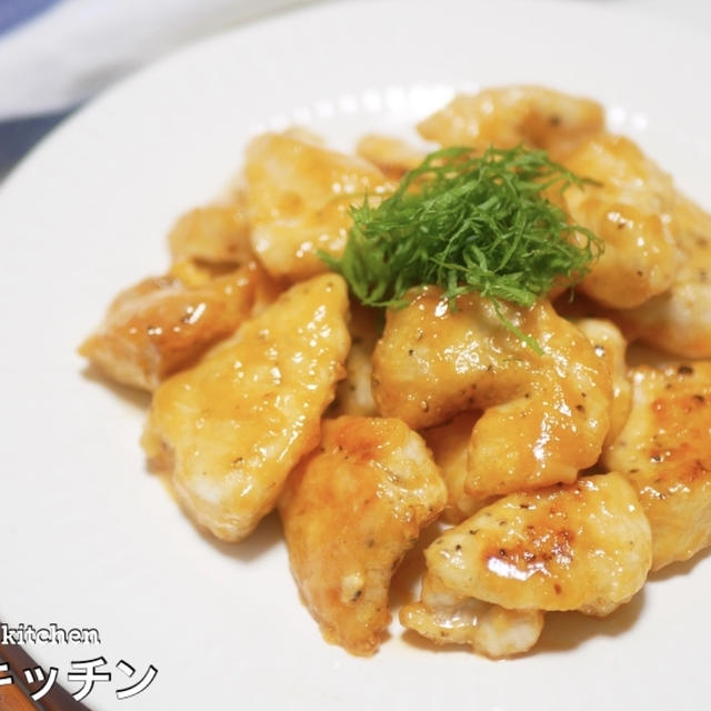 【コスパ最強!激ウマ!】揚げないから簡単『鶏胸肉de海老マヨ風』の作り方