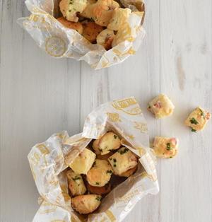 ウインナーとチーズのひとくちスコーン