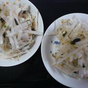 非常事態の超かんたん大根サラダ by 非常食研究会さん