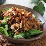 春野菜の豚丼