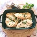 レンジで簡単チーズと牡蠣だし醤油のコク旨ささみ焼き(包丁、まな板いらず)