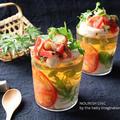 梅はんぺんとトマトのそうめんゼリー by naomiさん