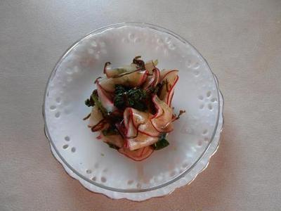 かぶの塩こんぶ浅漬け 簡単 あると便利な副菜