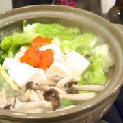 お肉はホロホロ&スープ旨っ!フルコースで「鶏の水炊き」。