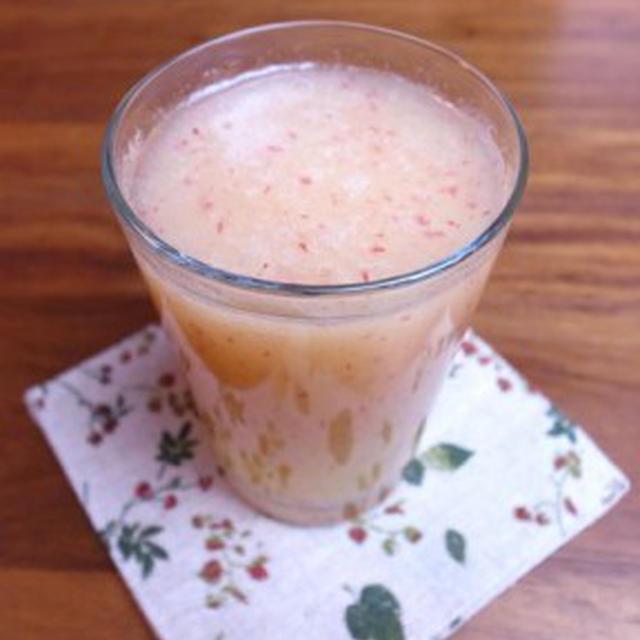 りんごと生姜のジュース