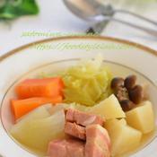 温まる野菜たっぷりポトフ