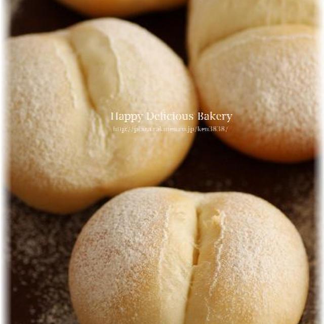ふんわり白パンを焼く♪