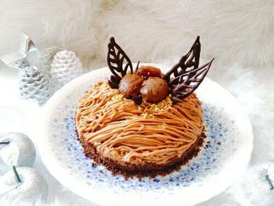 ✿お手製モンブランde Happy Birthday!ポチレポ✿