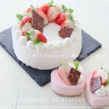 ☆ストロベリームースケーキ☆