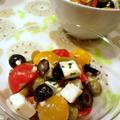 トマトオリーブモッツァレラ♪和えるだけ