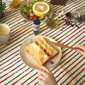 【モニタ】マッシュポテトトースト by みゅまこさん