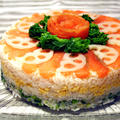 雛祭り!お寿司のケーキ