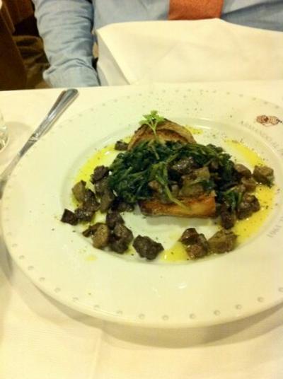 ローマっ子に人気の店に3:ローマならではのこだわり食