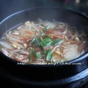 ~韓国ご飯~ 牛肉、豆もやしと大根のスープ♪