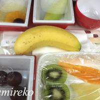 JAL国際線フルーツミール