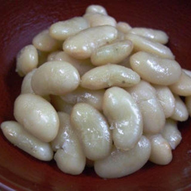 大福豆(白インゲン豆)煮豆