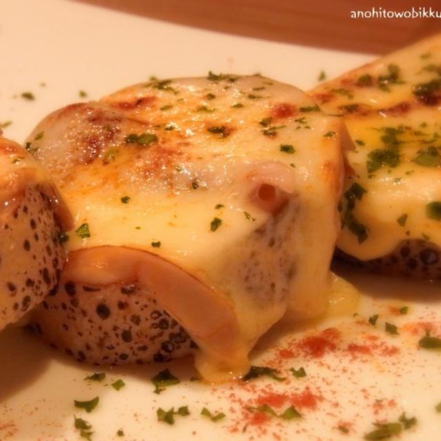 長芋のレシピ~皮つき長芋のとろ~りチーズ焼き~