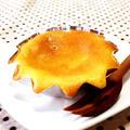 我家のおやつ 文旦マーマレード入り焼きチーズケーキ