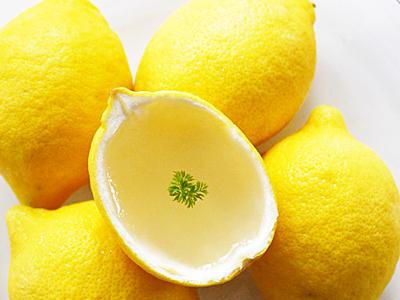 >レモンのゼリー レシピ by *Manis*さん