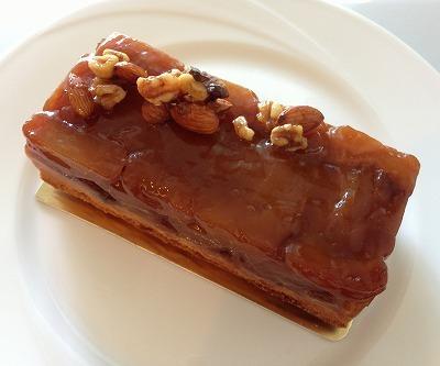 タルトタタン風リンゴのバースデーケーキ