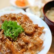 ガーリック豚丼☆