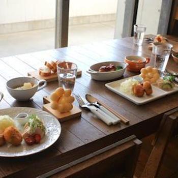 SOBOKAI COOKING SCHOOL2. 3月講座 「お野菜たっぷり春の洋食でおもてなし」