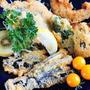 ■【イワシの大葉乗っけフライ&菜園野菜のフライ】