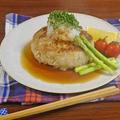 ふっくら極旨! お好み焼き風 イカ玉ハンバーグ by KOICHIさん