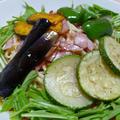 夏野菜たっぷり! 冷やしトマトパスタ