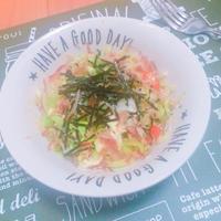 〜無理なく野菜を食べよう〜セロリと鰹節のお魚サラダ