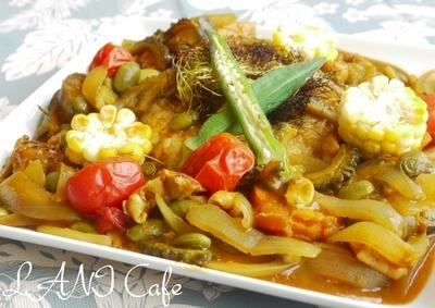 夏野菜の塩麹カレー