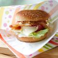 【レシピ】親子で作れる、ベーコン・レタス・トマト・チーズ・エッグバーガー。BLT&CEバーガーの作り方