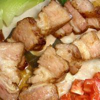 『豚バラのロースト はちみつ五香粉風味』 簡単に中華街の味が!