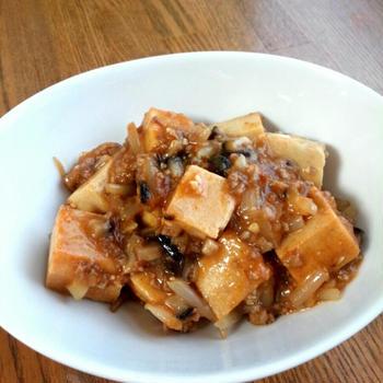 【もやしでかさ増し麻婆豆腐】とタイミングの良い返事