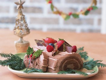 西武池袋本店「クリスマスケーキお披露目試食会」