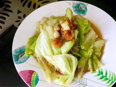 recipe☆パッガラムプリー(キャベツ炒め)