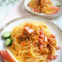 【レシピ】ボウルで和えるだけの納豆おろしキムチパスタ