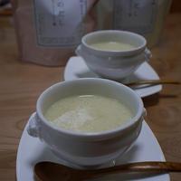 <ヤマキだし部>新じゃがと新玉葱の豆乳スープ
