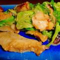 たかせ貝の味噌バター炒め